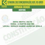 Programação da Semana de Comemoração dos 30 anos da Constituição da República Federativa do Brasil